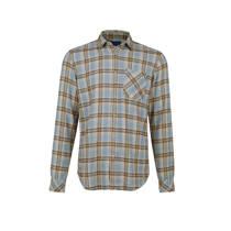 product afbeelding WE Fashion geruit overhemd blauw (heren)