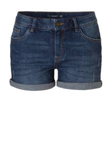 The Denim jeans short donkerblauw