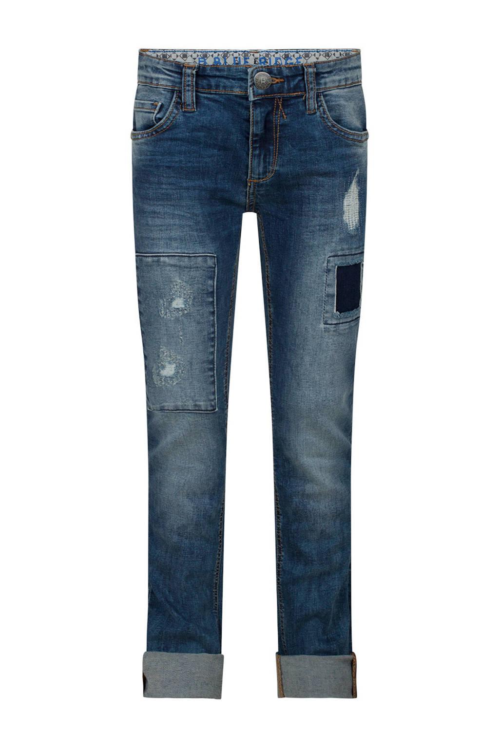 WE Fashion Blue Ridge regular skinny jeans, Blue denim