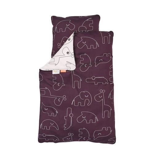 Done by Deer Sleepy junior dekbedovertrek 100x135 cm roze kopen