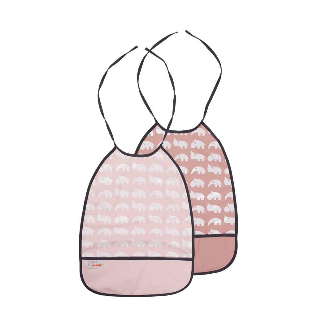 Done by Deer slabber roze (2 stuks), Roze