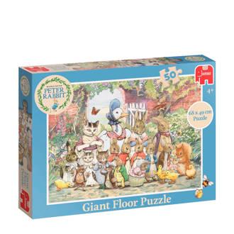 Peter Rabbit Classic Grote  vloerpuzzel 50 stukjes
