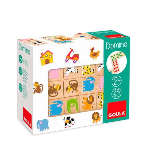 Goula Domino Dierentuin 28 stukjes bordspel kopen