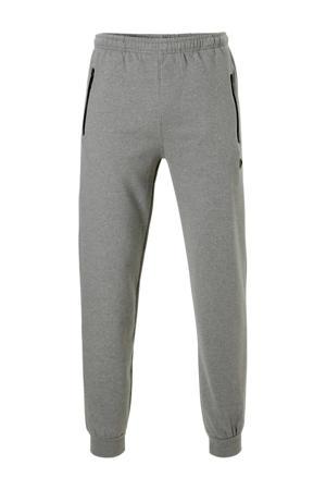 joggingbroek grijs gemeleerd