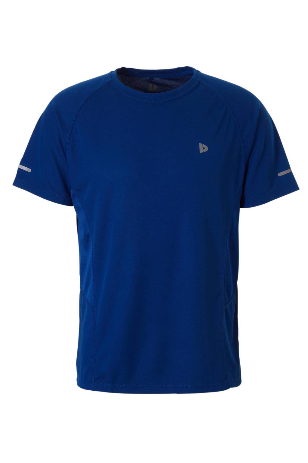 Donnay   sport T-shirt blauw, Kobaltblauw