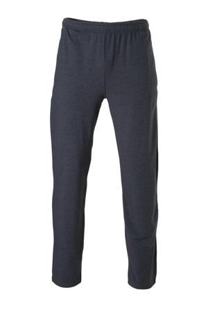 joggingbroek blauw gemeleerd