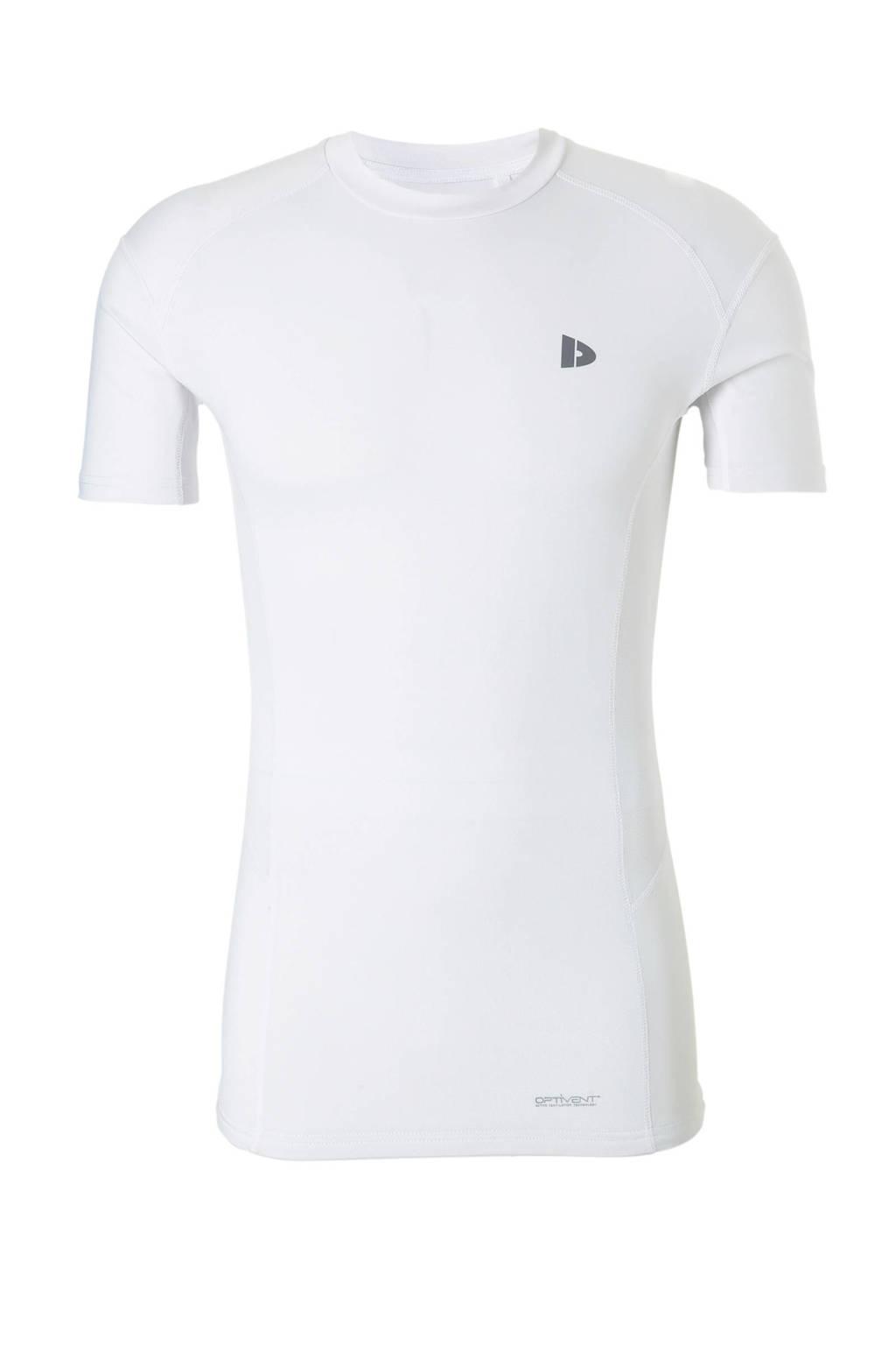 Donnay   sport T-shirt wit, Wit