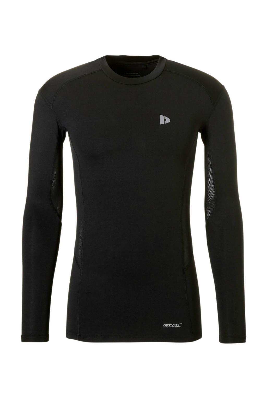 Donnay   sport T-shirt zwart, Zwart