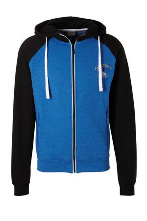 sportvest blauw/zwart