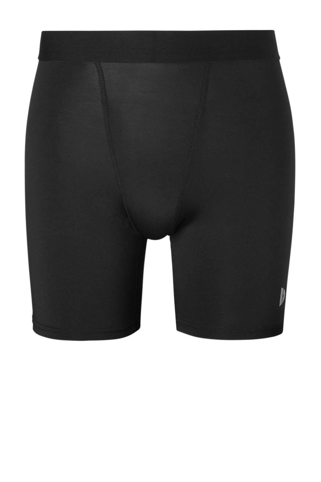 Donnay compressie sportboxer zwart, Zwart