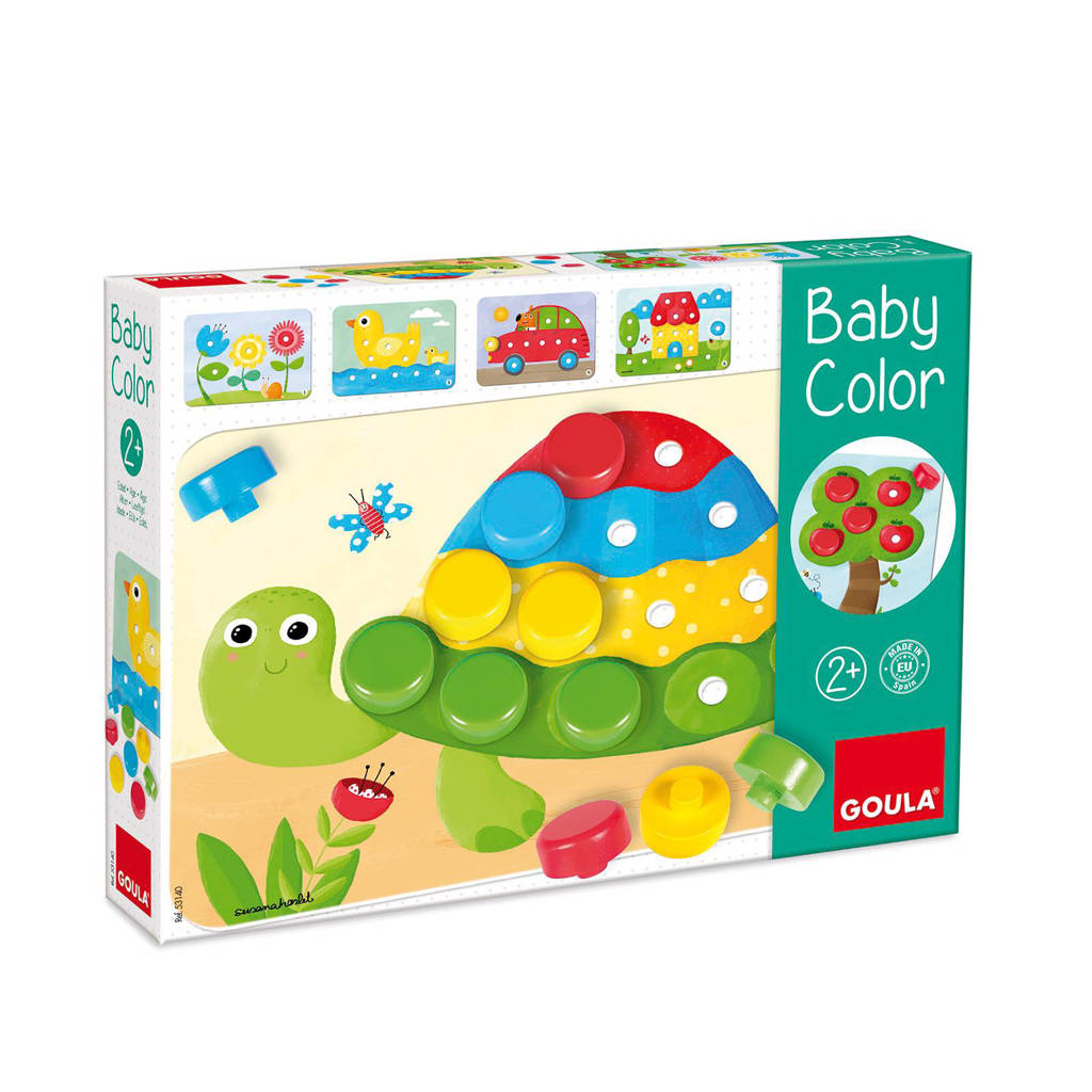 Goula houten Baby color