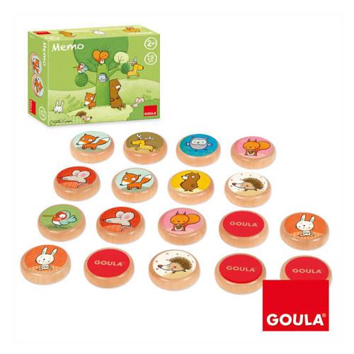 Goula Memory Tom en zijn vriendjes uit het bos kopen