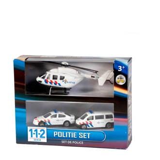 112 politie speelset 3 delig