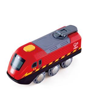 houten slinger aangedreven trein