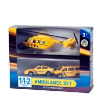 Van der Meulen  112 ambulance speelset 3 delig