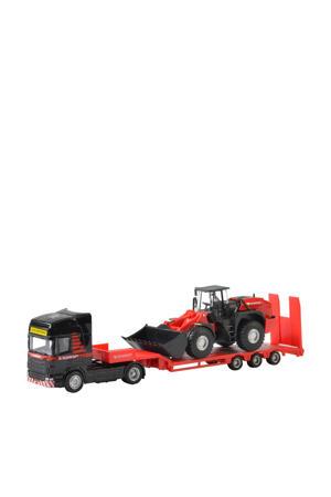 Mammoet Scania shovel
