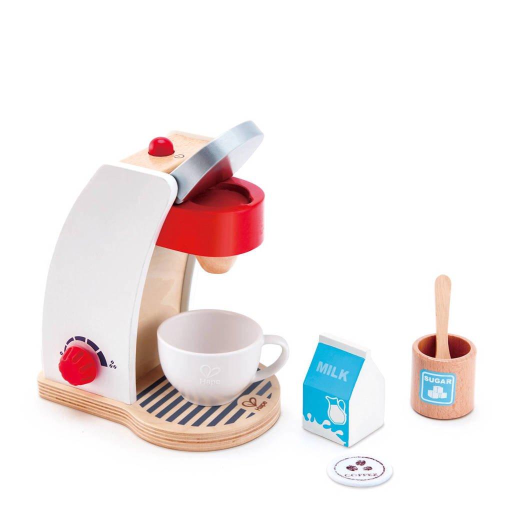 Hape houten mijn houten koffie machine