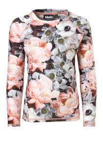 Molo UV T-shirt in all over print roze (meisjes)