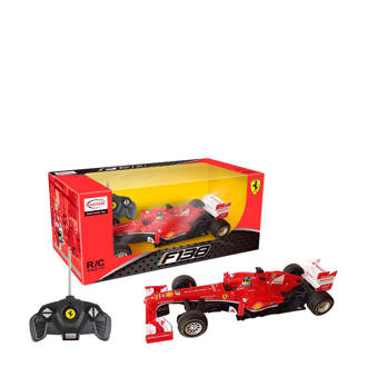 Ferrari F1 bestuurbare auto rood 1:18