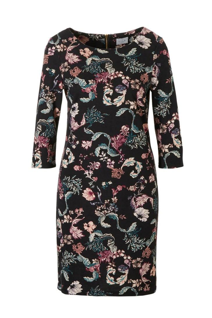 met VILA jurk met bloemenprint VILA jurk xa7WqTp