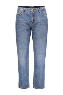 Sissy-Boy jeans Bronx met panter borduursel (dames)