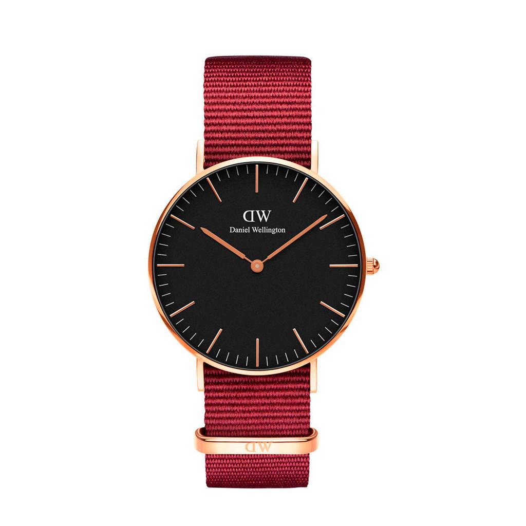 Daniel Wellington Classic Roselyn horloge DW00100273, Rood