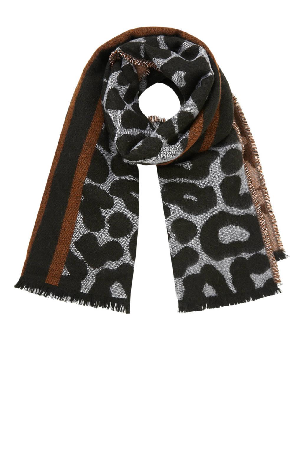 enorme verkoop voorbeeld van San Francisco sjaal met luipaardprint