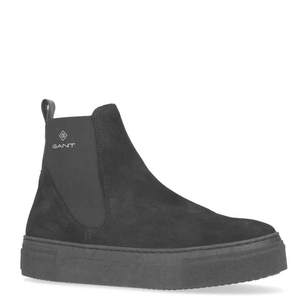 GANT  suède sneakers, Zwart