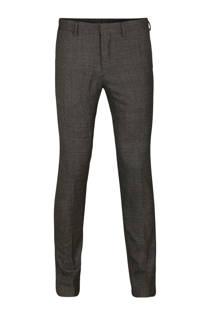 WE Fashion wollen slim fit pantalon (heren)