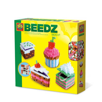 Beedz strijkkralen 3D taartjes