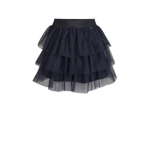 WE Fashion rok donkerblauw