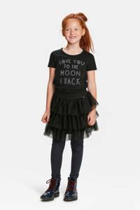 WE Fashion rok black uni, Black Uni