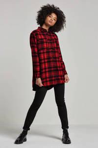 CALVIN KLEIN JEANS high waist skinny jeans zwart, Zwart