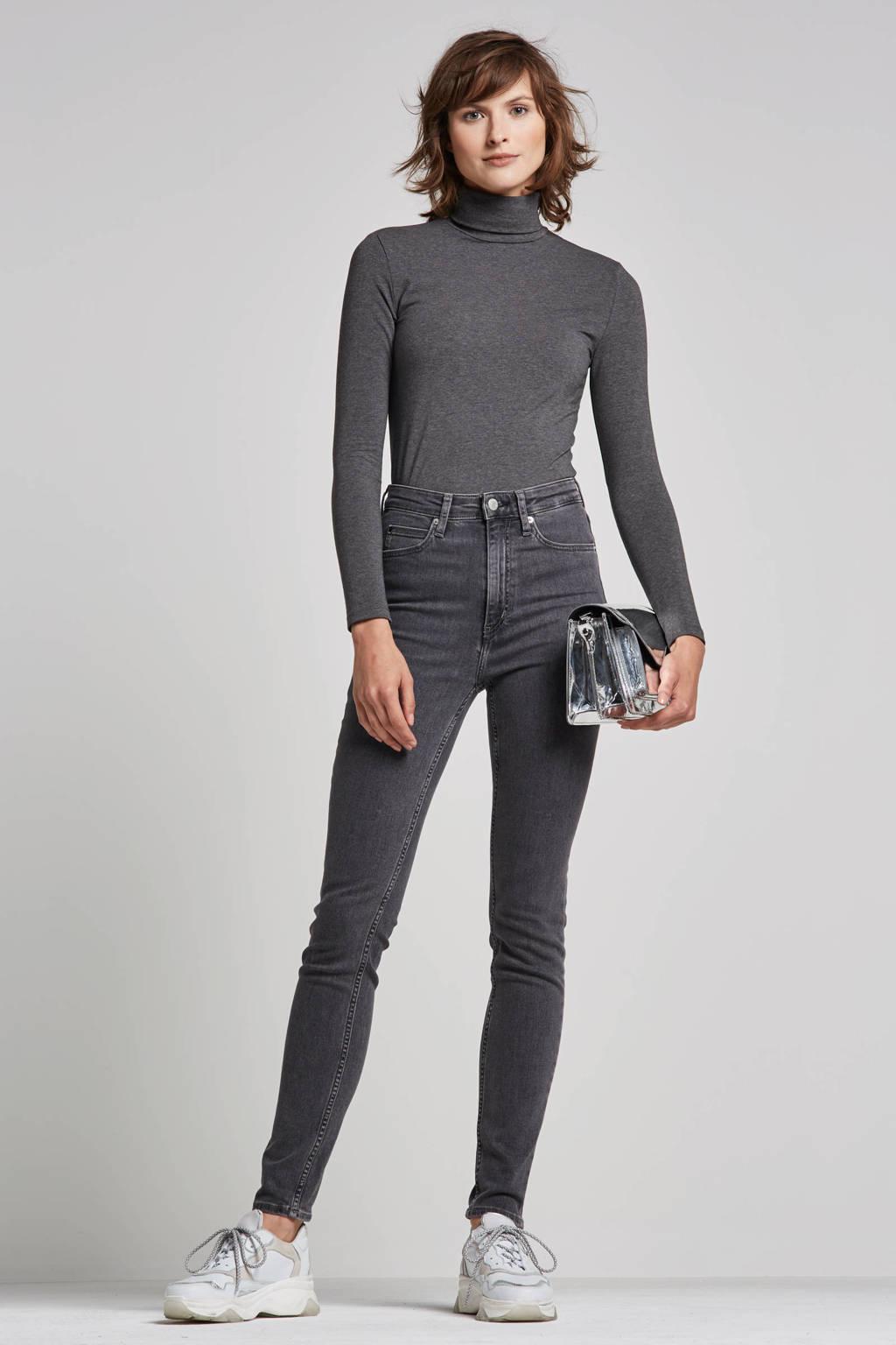 Calvin Klein Jeans CKJ 010 high waist skinny fit jeans, Grijs