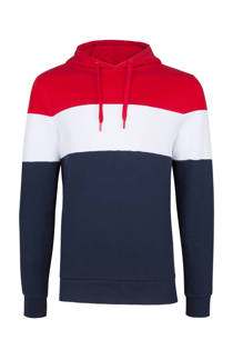 WE Fashion  hoodie marine (heren)