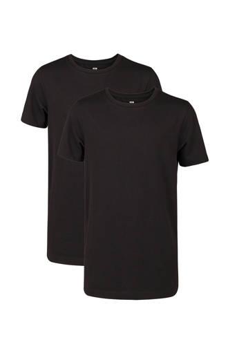 T-shirt basic zwart