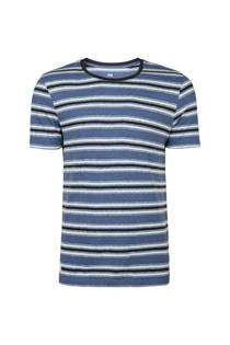 WE Fashion gestreept T-shirt blauw