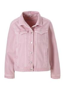 spijkerjasje roze