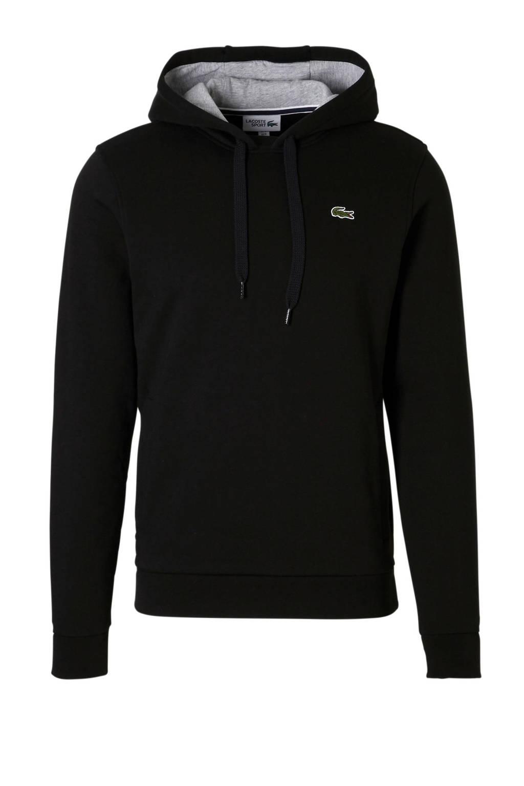 Lacoste   sportsweater zwart, Zwart