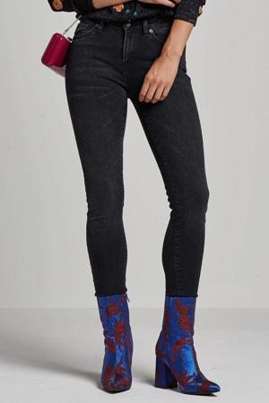 skinny jeans SLFIDA black denim