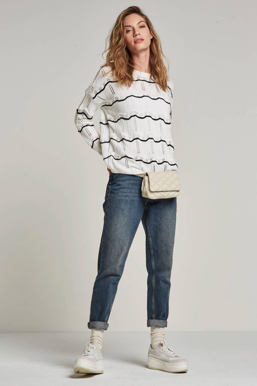 SELECTED FEMME high waist mom jeans, Medium blue denim