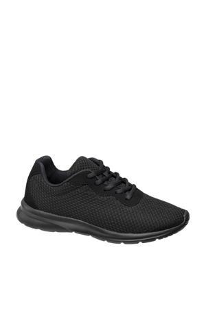 lichtgewicht sneakers zwart