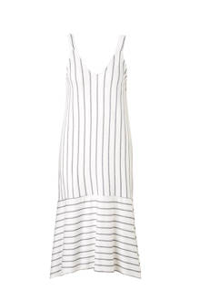 gestreepte jurk wit