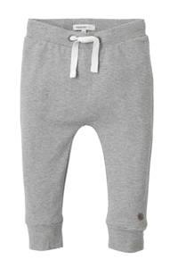 Noppies newborn baby broek, grijs/ wit