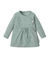 Noppies newborn baby jurk Mattie, Mintgroen/ groen