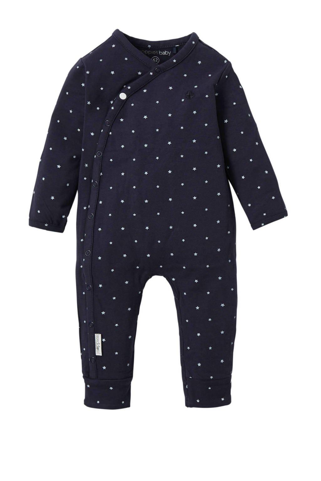 Noppies newborn baby boxpak Dali donkerblauw, marine/ wit
