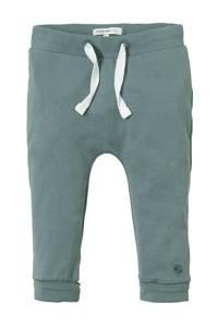 Noppies newborn baby broek, Vergrijsd groen