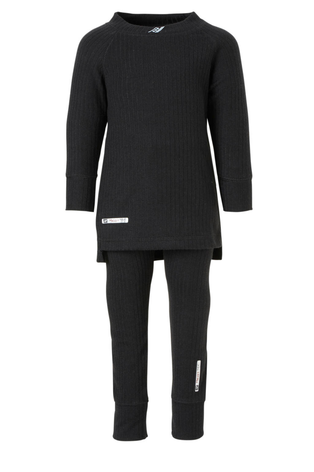Rucanor thermo shirt+broek zwart, Zwart