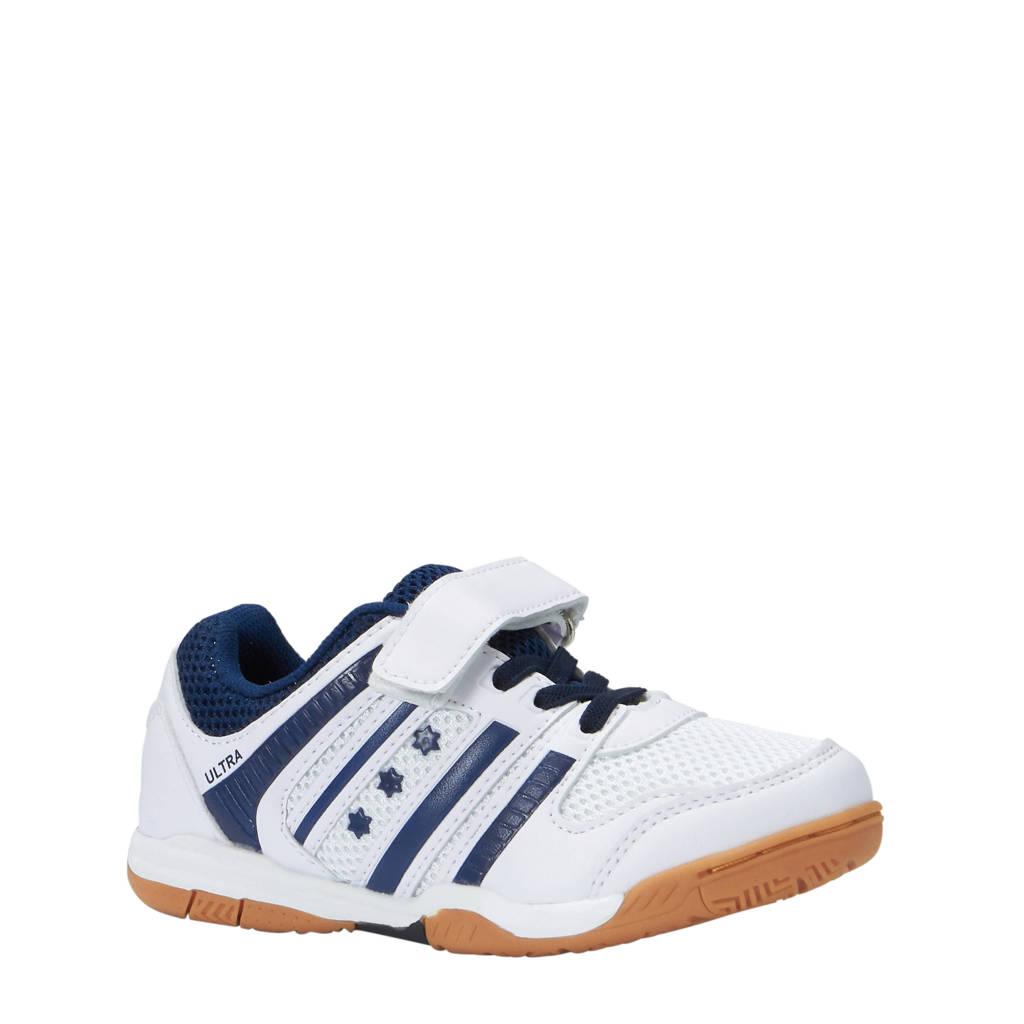 Rucanor kids Ultra sportschoenen wit/donkerblauw, Wit/donkerblauw