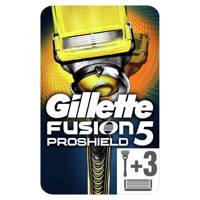Gillette Fusion5 ProShield scheersysteem + 3 mesjes